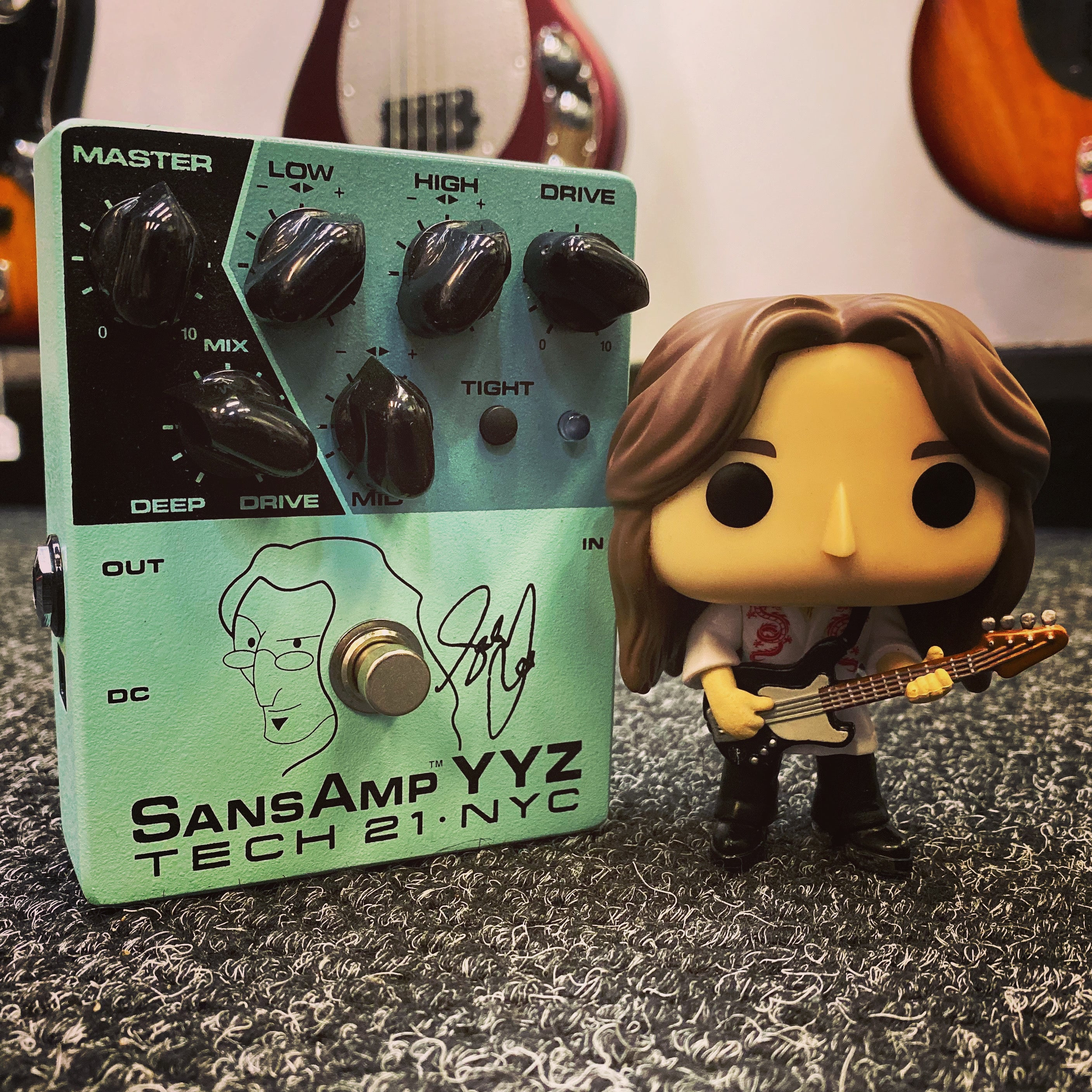 Sansamp YYZ Geddy Lee Signature Bass Pedal