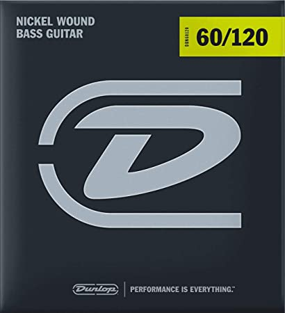 Dunlop Nickel Wound Steel Extra Heavy Gauge 60-120 Bass Strings - DBN60120
