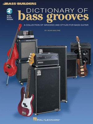Dictionary of Bass Grooves - Bass Builders