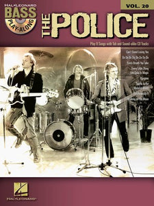 The Police - Bass Play-Along Vol.20