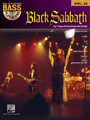 Black Sabbath - Bass Play-Along Vol.26