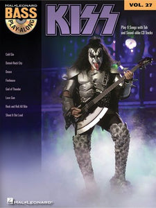 Kiss - Bass Play-Along Vol.27