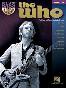 The Who - Bass Play-Along Vol.28