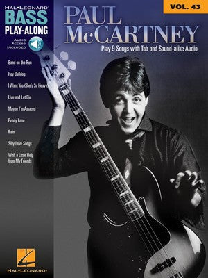 Paul McCartney - Bass Play-Along Vol.43