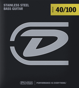Dunlop Stainless Steel Light Gauge 40100 Bass Strings - DBS40100