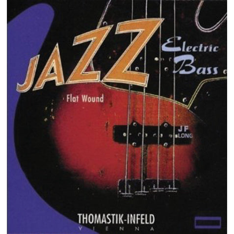 Thomastik Jazz Bass Flatwound Extra Long Scale 44-96 Bass Strings