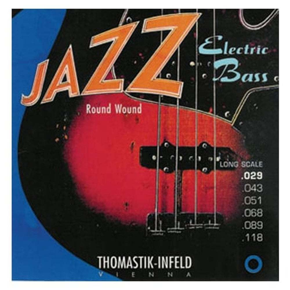 Thomastik JR346 Jazz Bass Roundwound 6 String 29-118 Bass Strings