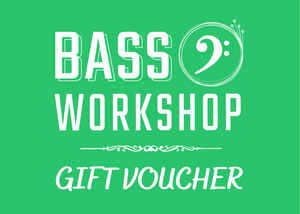 Bass Workshop Digital Gift Voucher