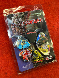 Iron Maiden #1 Limited Edition Picks - 6 Pack - 0.71mm
