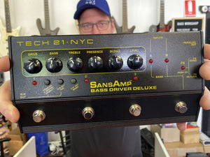 Tech 21 SansAmp Bass Driver Deluxe DI/Preamp [AVAILABLE TO ORDER]