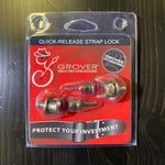 Grover Quick Release Strap Locks Set Nickel
