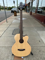 Martinez Southern Star Solid Spruce Top Acoustic Bass With Case