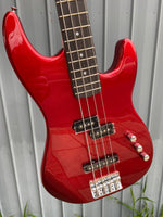 Aria PJ Bass Candy Apple Red
