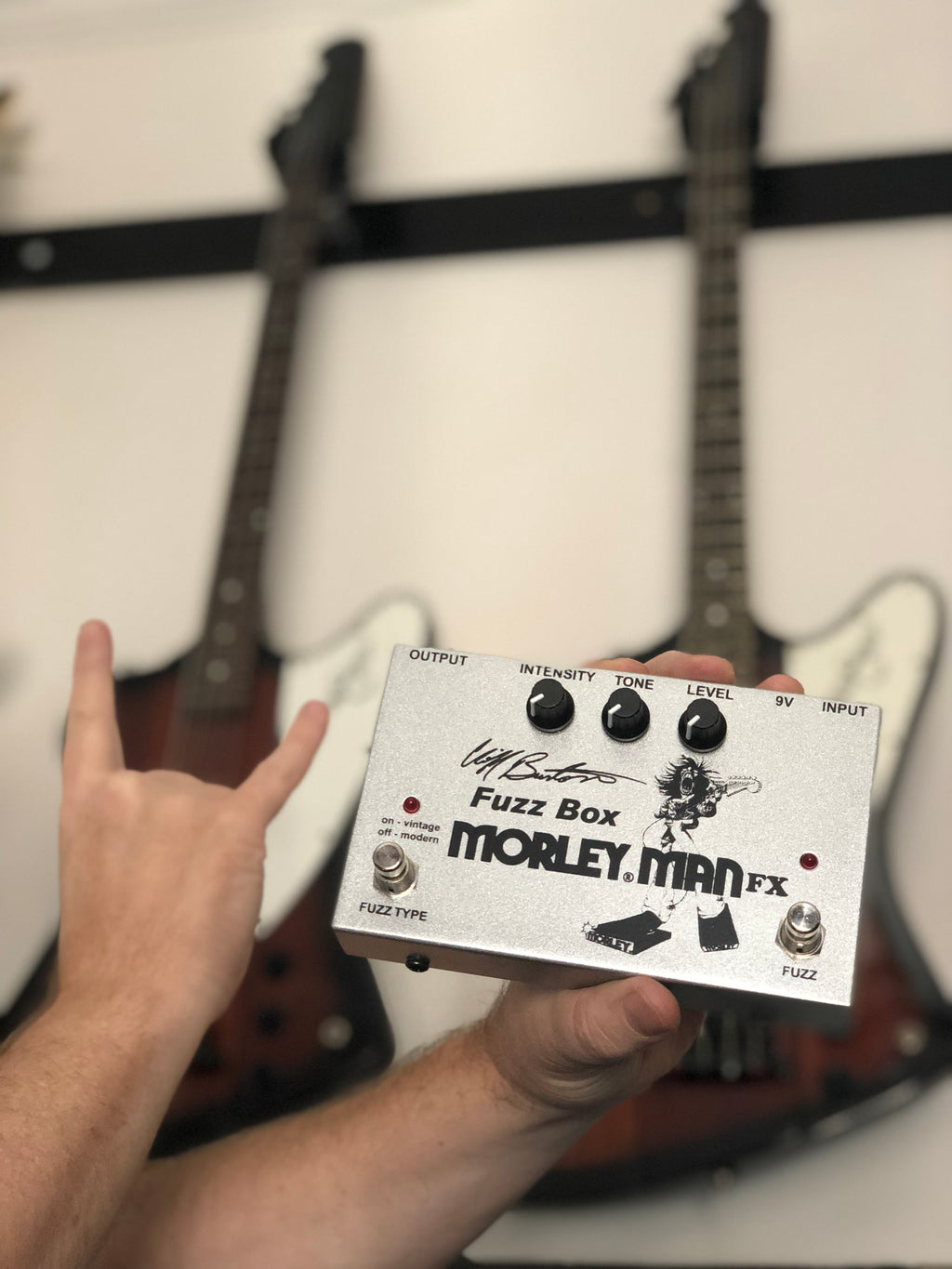 Morley CLIFF BURTON FUZZ BOX BY MORLEY MAN FX