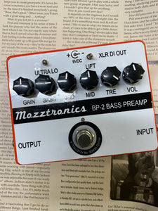 Mozztronics Bass Preamp BP-2