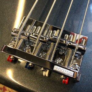 Gotoh 201B 4 String Bass Bridge Chrome
