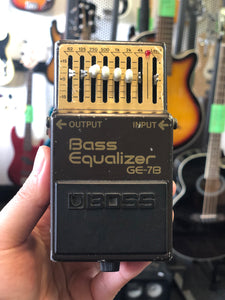 Boss GE-7B Bass Equalizer (s/hand)