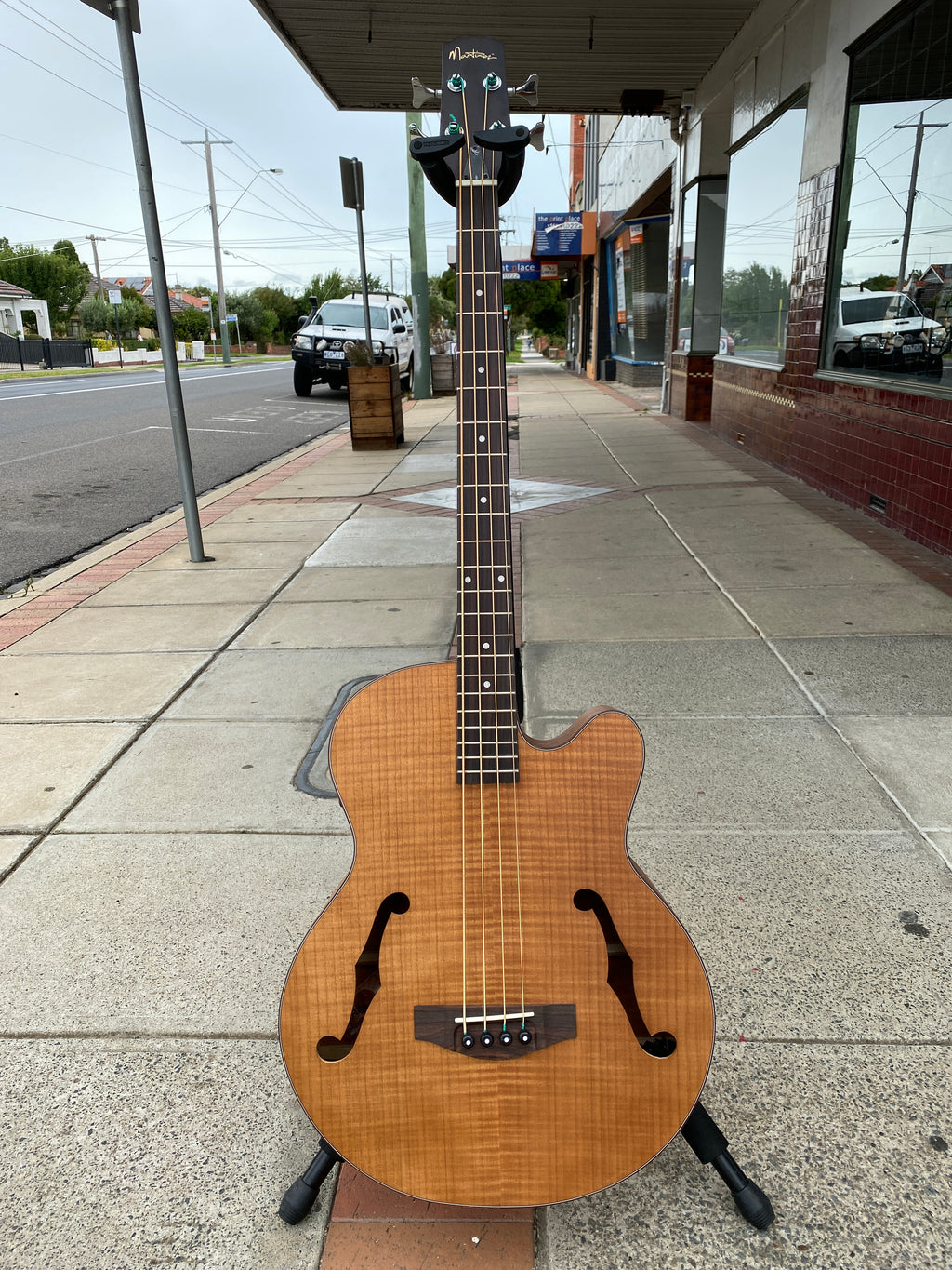 Martinez Jazz Hybrid Flamed Acoustic Bass