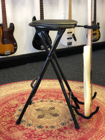 Bass Guitar Stool with Footrest and Stand