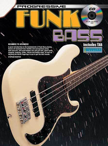 Progressive Funk Bass Book/CD