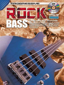 Progressive Rock Bass Book/CD