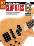 10 Easy Lessons Learn To Play Slap Bass Book/CD/DVD
