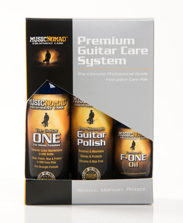 Music Nomad Premium Guitar Care Kit 5-Pce