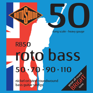 Rotosound RB50 Rotobass Long Scale Heavy 50-110 Bass Strings