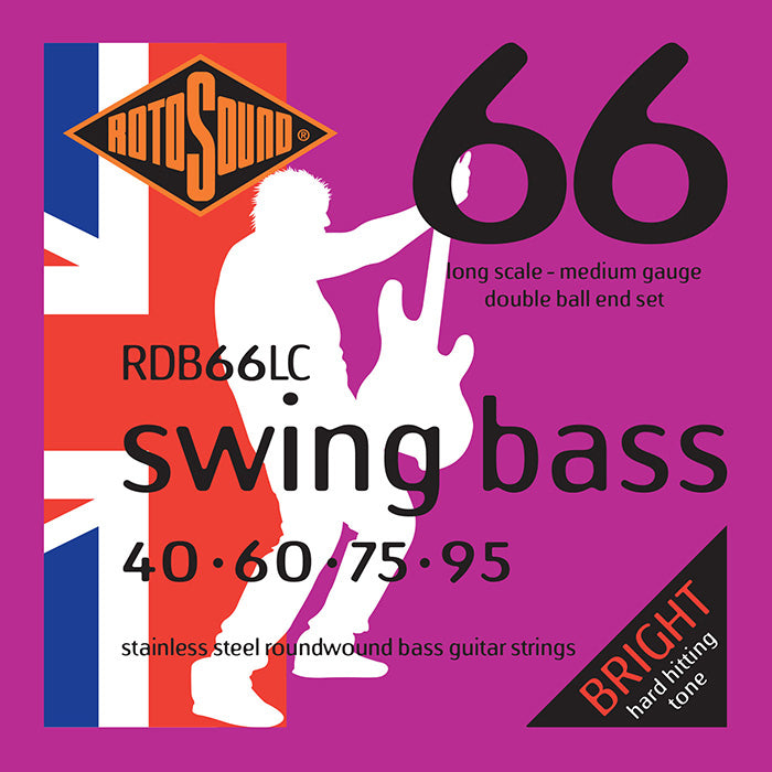 Rotosound RDB66LC Swing Bass Double Ball End Medium 40-95 Bass Strings