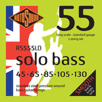 Rotosound RS555LD Solobass Standard 5 String 45-130 Bass Strings