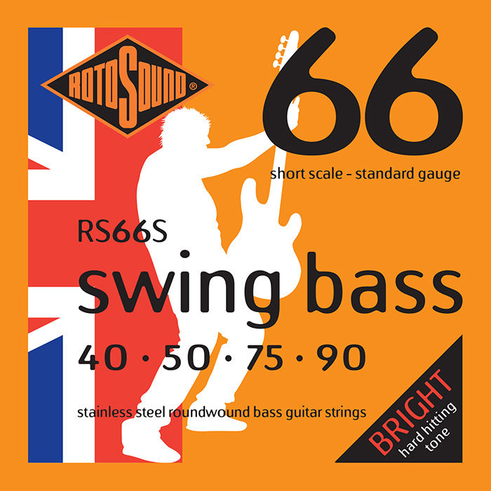 Rotosound RS66S Swing Bass Short Scale Medium 40-90 Bass Strings