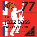 Rotosound RS77LE Jazz Bass 77 Long Scale Heavy 50-110 Monel Flatwound
