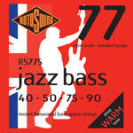 Rotosound RS77S Jazz Bass Monel Flatwound Short Scale Medium 40-90 Bass Strings