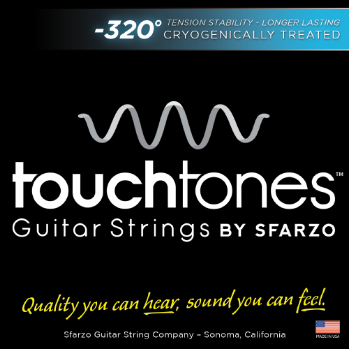 Sfarzo Touchtones Magna-Core Nickel Wound Bass Strings 45-105