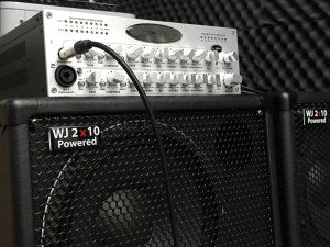 Wayne Jones Audio WJBPII TWIN CHANNEL BASS PRE-AMP