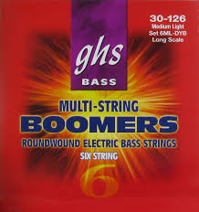 GHS Multi-String Boomers 6ML-DYB Bass Strings