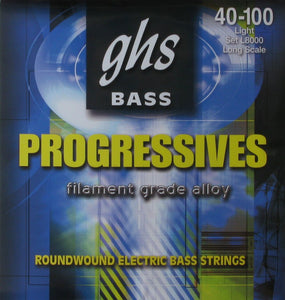 GHS Progressives L8000 Bass Strings