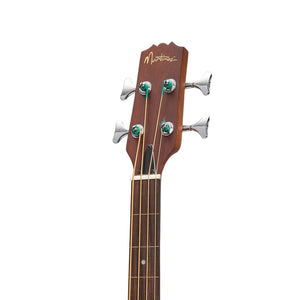 Martinez Jazz Hybrid Small Body Fretless Acoustic Bass Guitar (Natural Satin) [AVAILABLE TO ORDER]