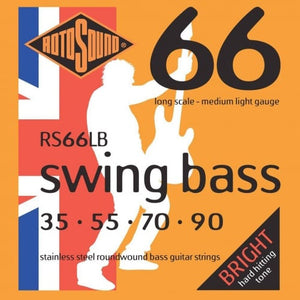 Rotosound RS66LB Swing Bass Medium Light 35-90 Bass Strings