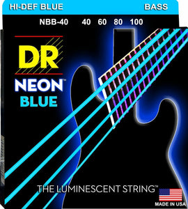 DR NBB-40 NEON™ Hi-Def© Blue Coated Bass: 40, 60, 80, 100