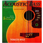 Thomastik Acoustic Bass 5 String 41-118 Bass Strings