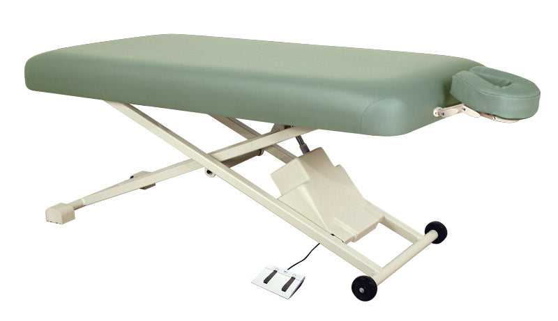 "Oakworks Proluxe Flat Top electric Massage Table31"", Plush Padding"