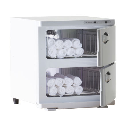 UV HOT TOWEL CABINET LARGE WHITE 120V