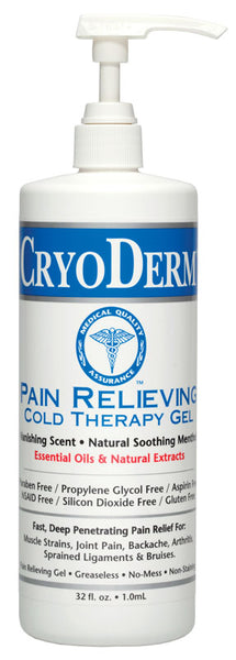 CryoDerm Pain Relieving Cold Therapy Gel