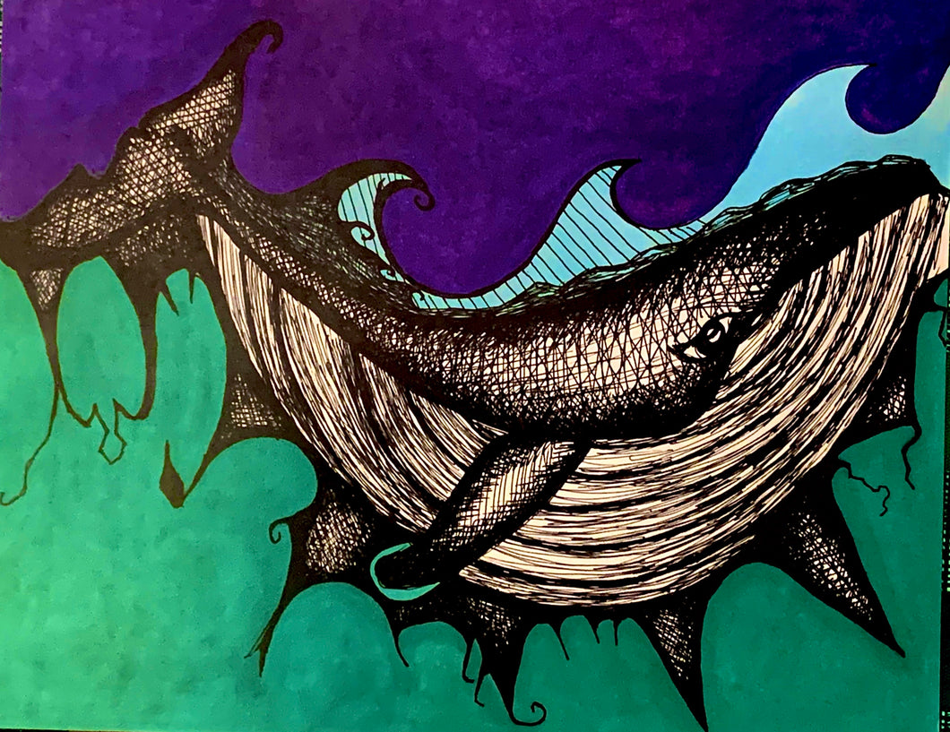 Whale Art by James M. Stiller
