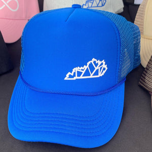 Blue Kentucky SnapBack Trucker Hat