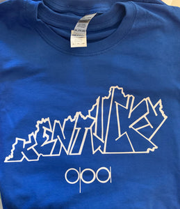 Special Edition Kentucky State Graffiti Tee
