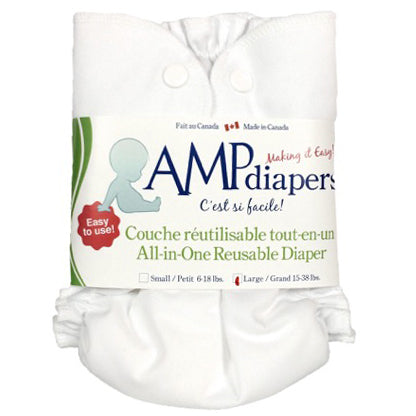 AMP - One Size Duo Diaper With Bamboo Insert