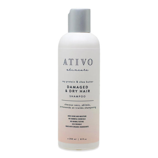 Ativo Skincare - Damaged & Dry Hair Shampoo