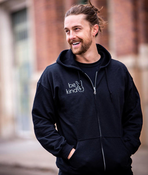 "HAYMAD & Co. - ""BE KIND"" Zip Up"